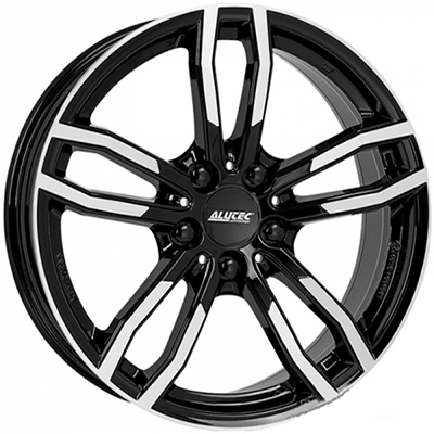 Диск Alutec Drive 8,0x17 5/120 ET34 D72,6 Diamond Black Front Polished